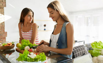 Правильный рацион питания для похудения для девушек
