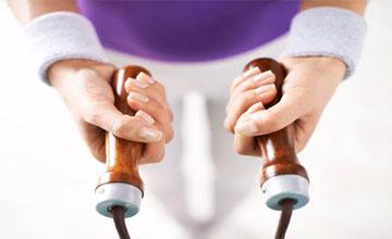 Как правильно прыгать на скакалке для похудения