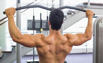 Как накачать спину в тренажерном зале