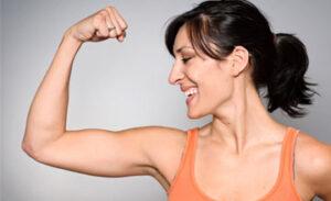 Как накачать руки женщине в 40 лет