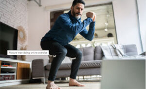 Упражнения для похудения мужчин в 40 лет